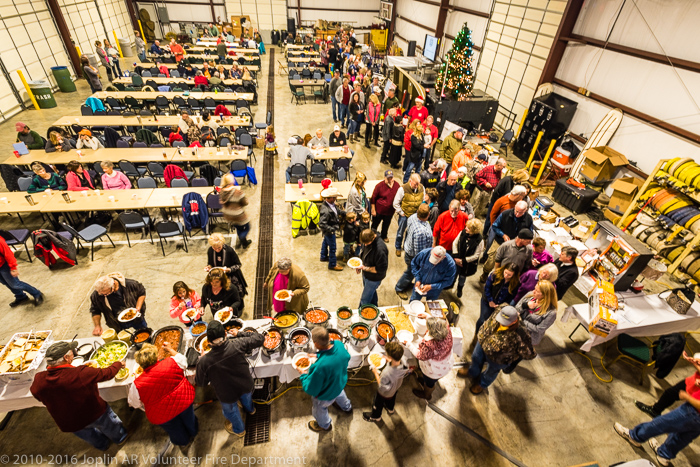 A great turnout for the annual JVFD spaghetti supper and auction fundraiser. THANK YOU ALL! (Click on this image to view photos from the fundraiser.)